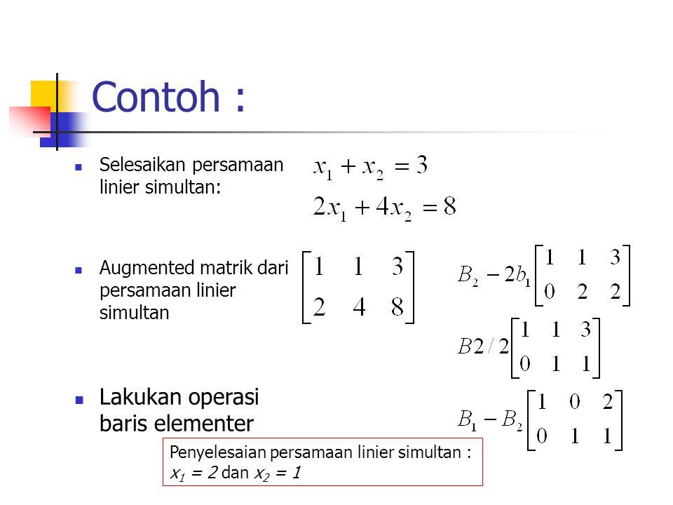 Contoh Soal Eliminasi Gauss Jordan 4x4 Kumpulan Soal Pelajaran 3