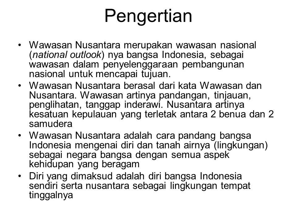 Bab 7 Wawasan Nusantara Apakah Arti Hakekat Dan Kedudukan Dari Wawasan Nusantara Wanus Bagi Bangsa Indonesia Mengapa Muncul Latar Belakang Konsep Ppt Download