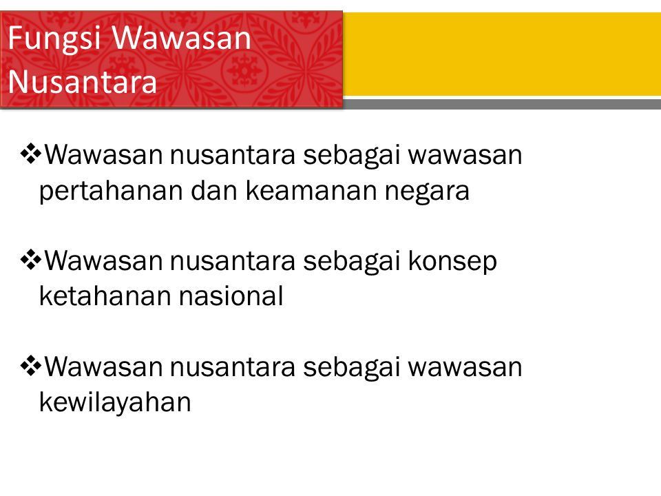 Tugas Presentasi Wawasan Nusantara Ppt Download