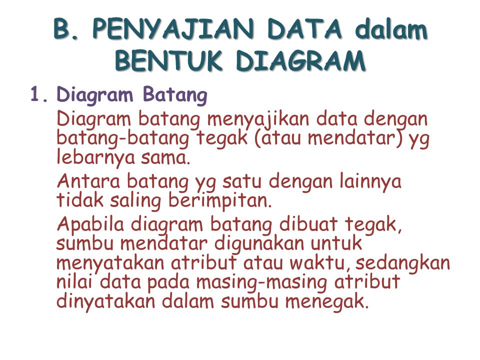 Penyajian data ppt download b penyajian data dalam bentuk diagram ccuart Image collections