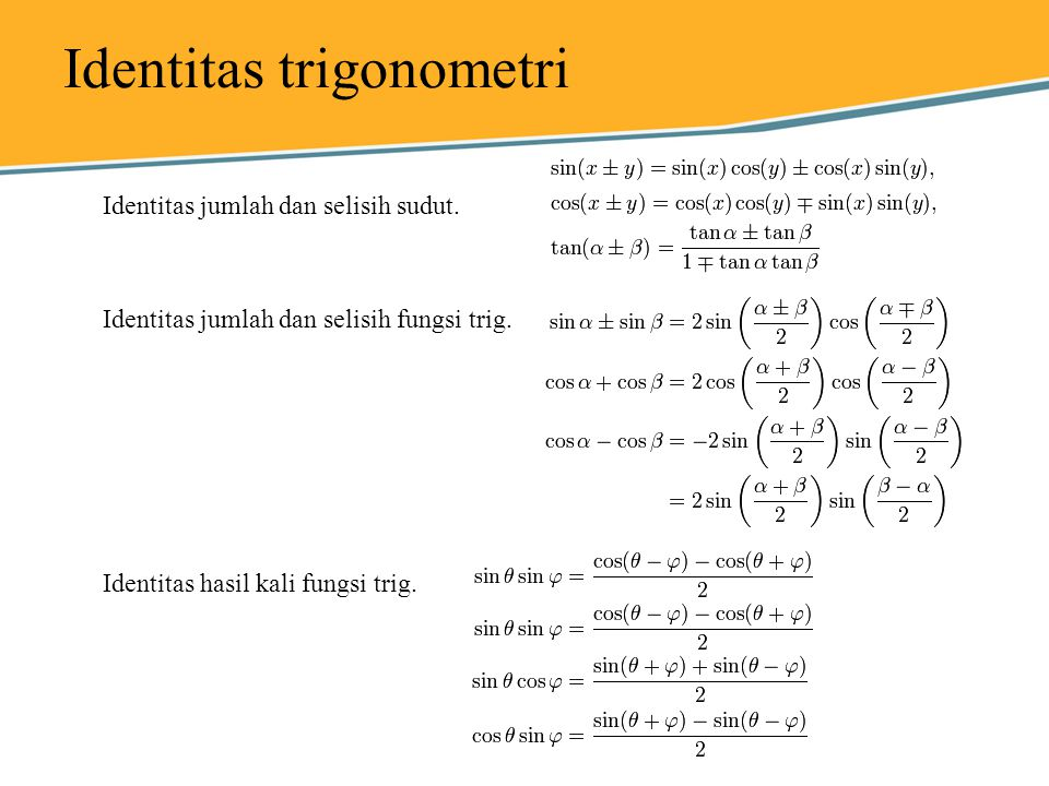 Trigonometri Ppt Download