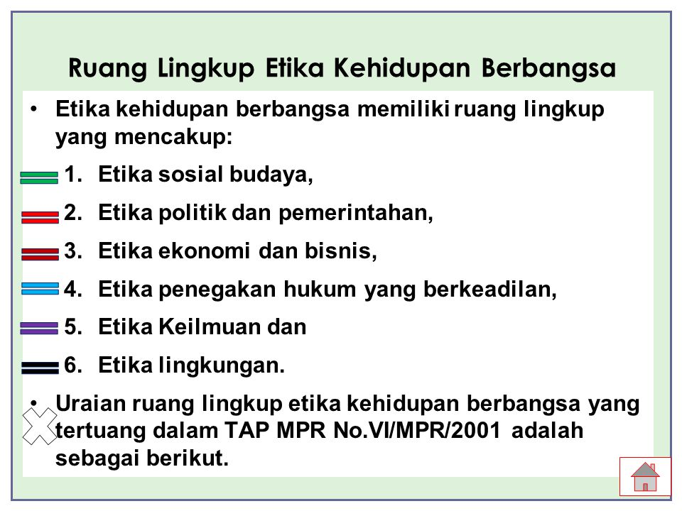 Etika Kehdupan Berbangsa Ppt Download