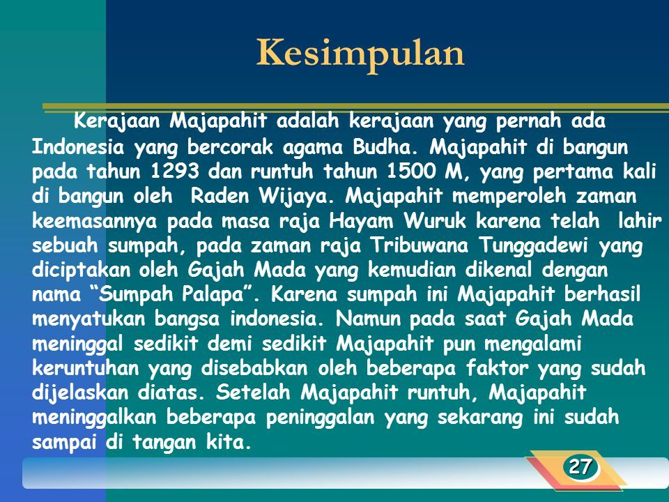 Sejarah Kerajaan Majapahit Ppt Download