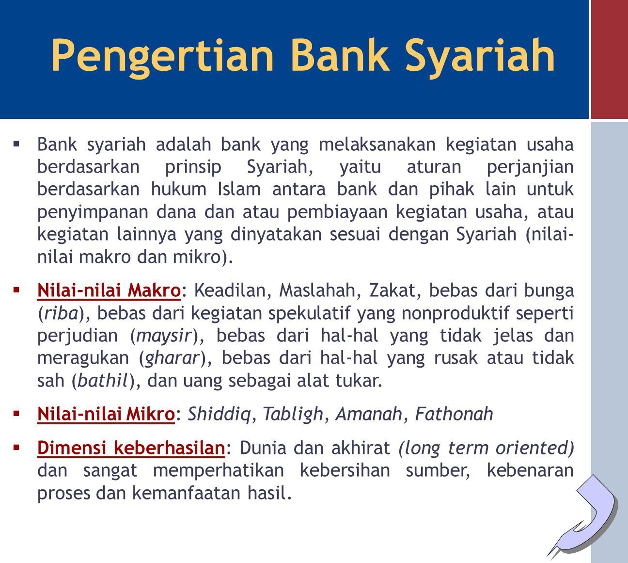 Pengertian Bank Syariah Ppt Download