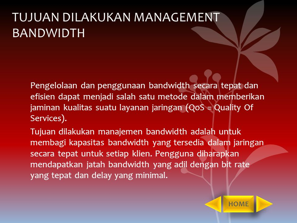 traffic and bandwidth management ppt