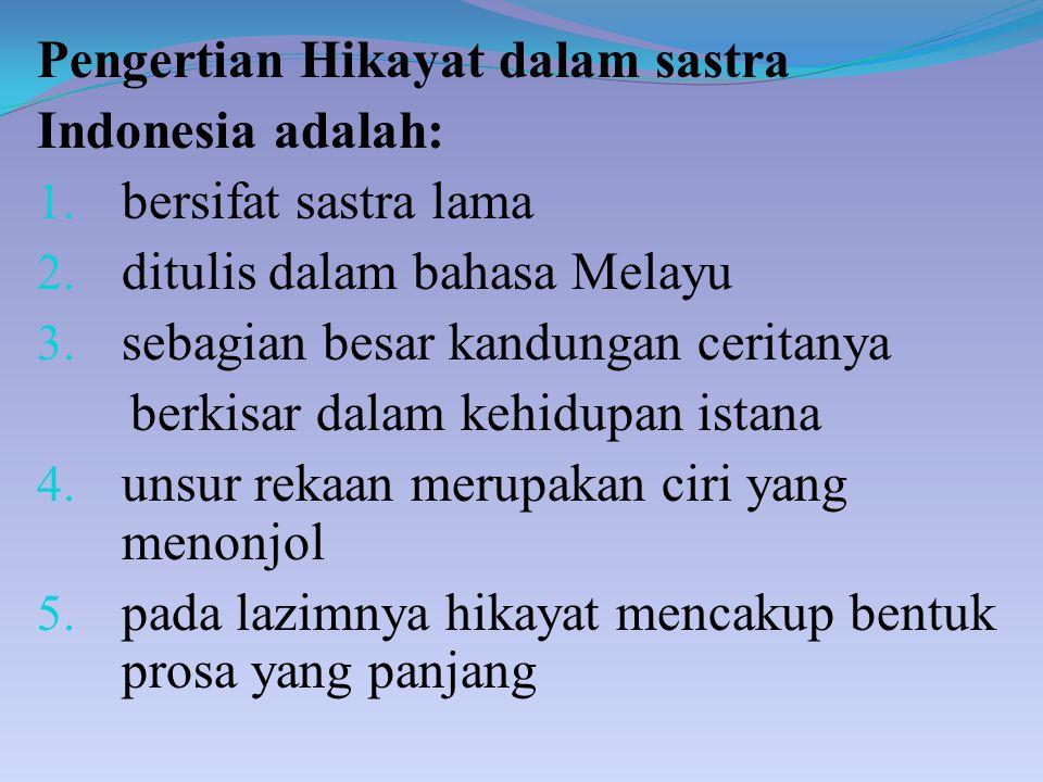 Hikayat Ppt Download
