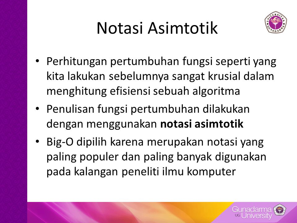 Kompleksitas Algoritma Ppt Download