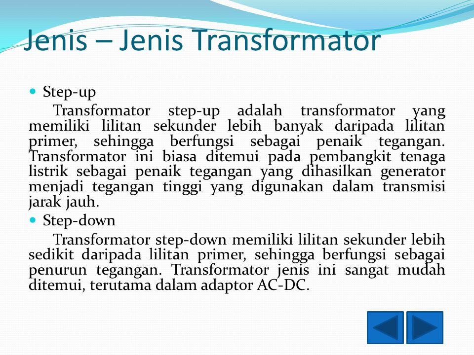 Jenis+%E2%80%93+Jenis+Transformator - Jenis Trafo Step Up Dan Step Down