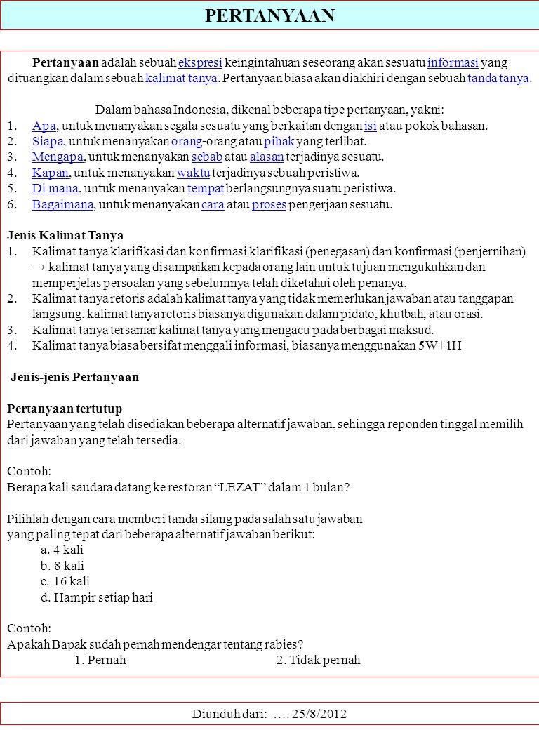 KAJIAN LINGKUNGAN METODE SURVEI DALAM ….. - ppt download