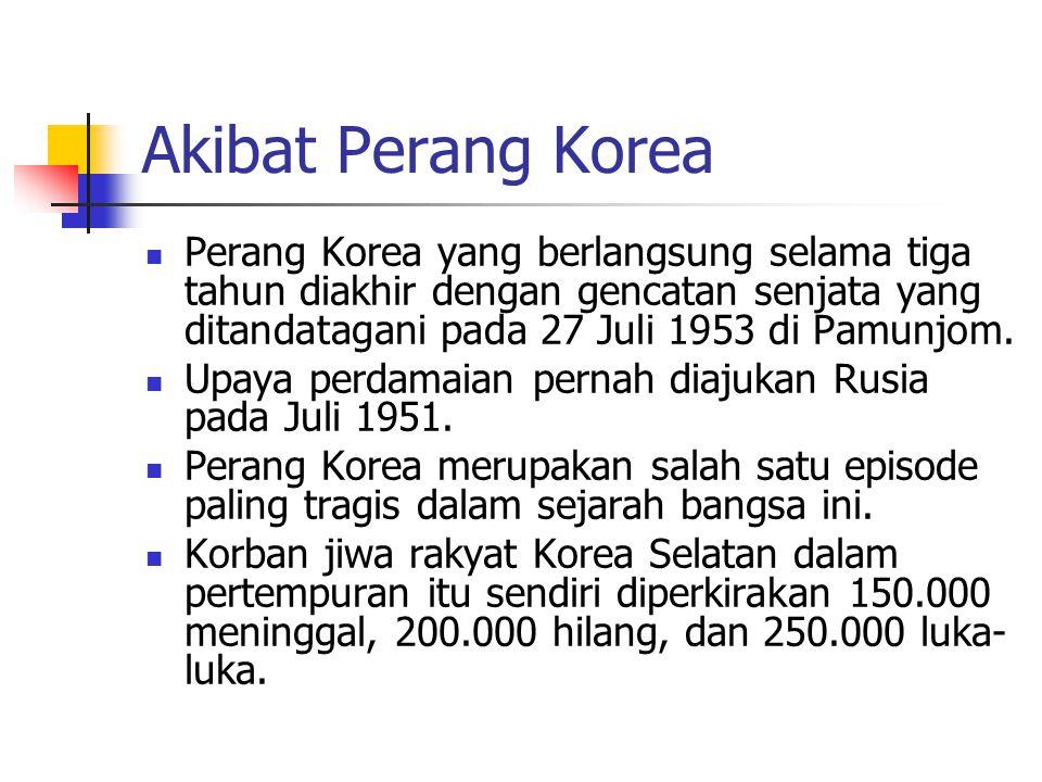 Korea Sebelum dan Selama Perang Korea: - ppt download