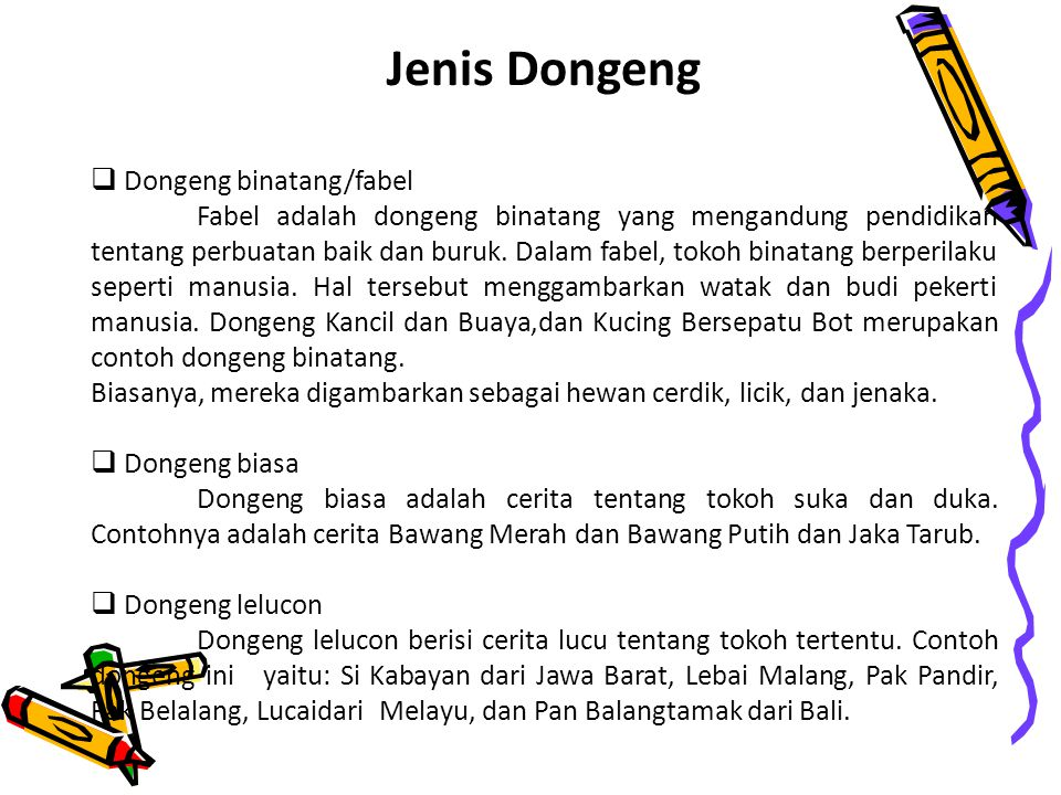 Monolog Dongeng Pertemuan Ke 5 Ppt Download