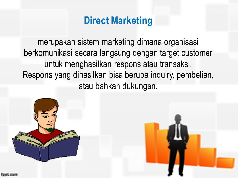 Direct Marketing Pemasaran Langsung Ppt Download