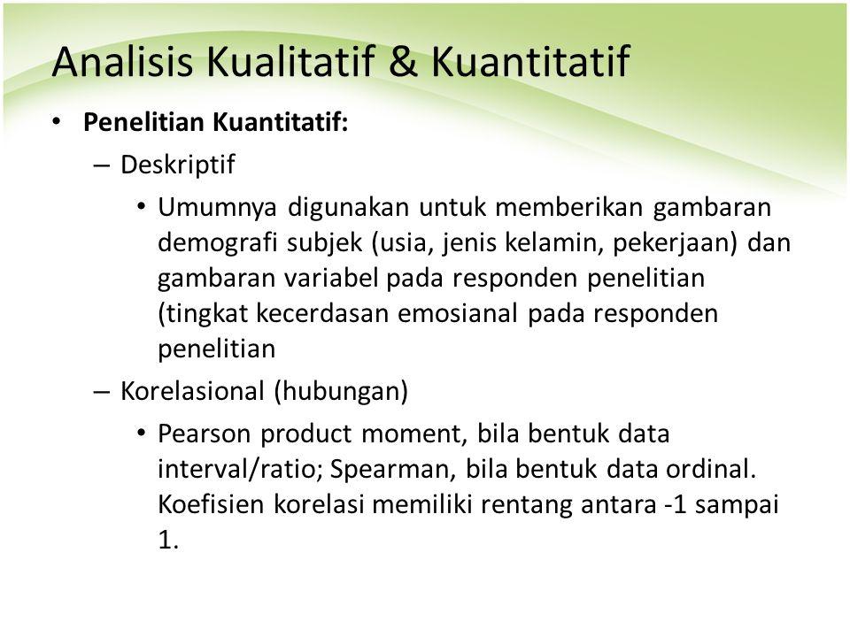 Contoh Soal Dan Materi Pelajaran 10 Contoh Tesis Kuantitatif 3 Variabel