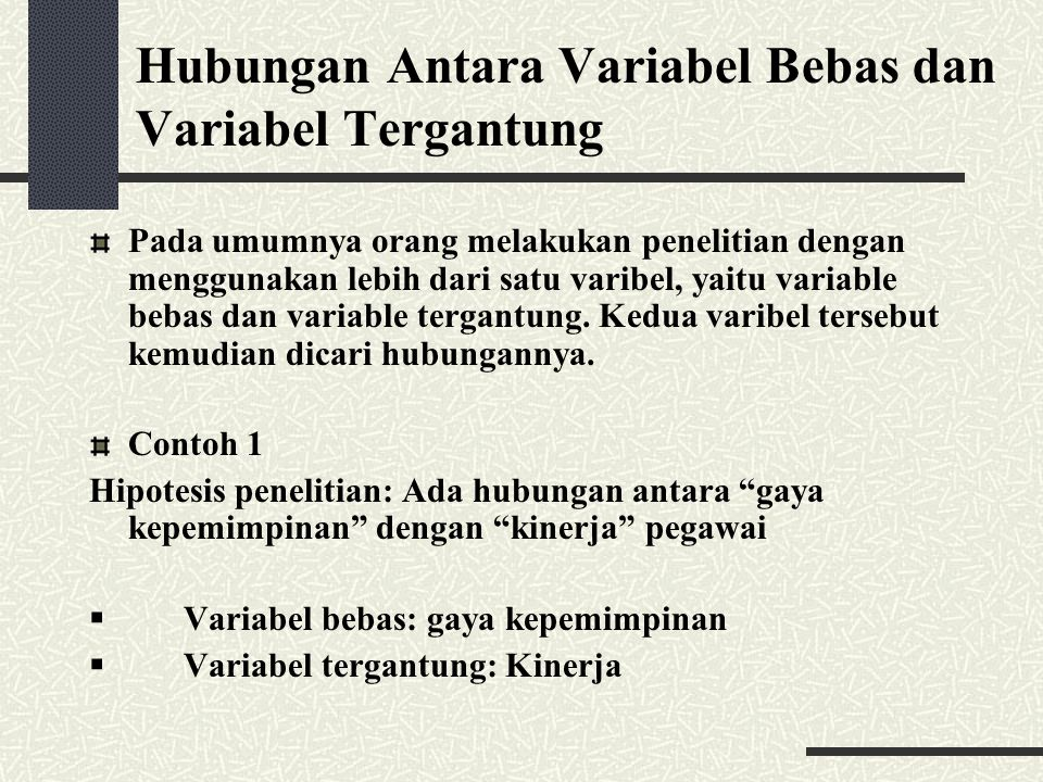 Variabel Dan Definisi Operasional Penelitian Ppt Download