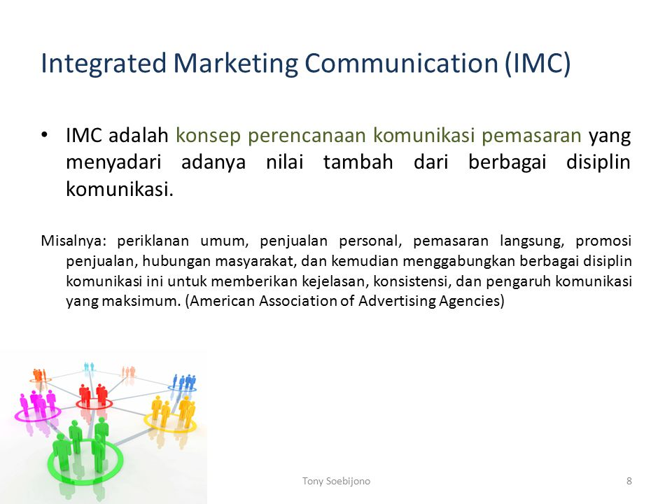 Integrated Marketing Communication (IMC)
