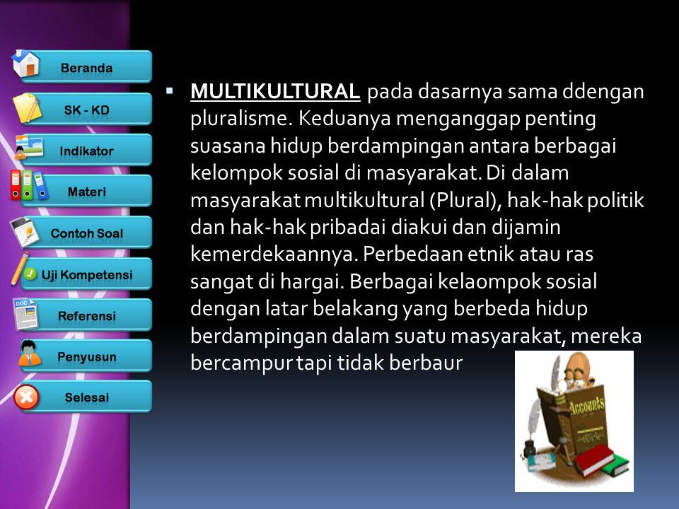 Masyarakat Multikultural Ppt Download