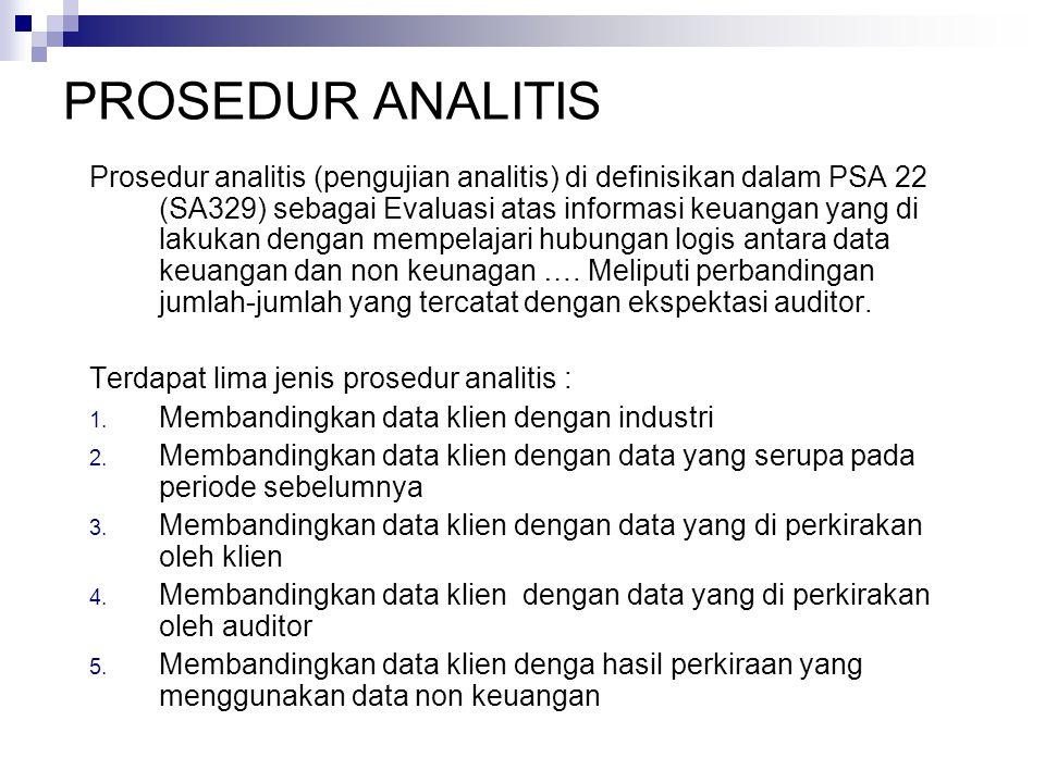 Bab 7 Perencanaan Audit Dan Prosedur Analitis Ppt Download
