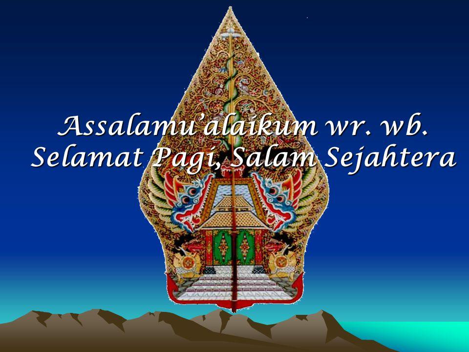 Assalamu Alaikum Wr Wb Selamat Pagi Salam Sejahtera Ppt Download