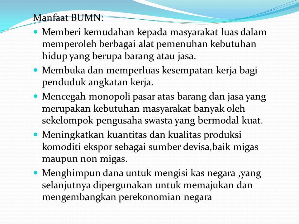Di Indonesia Badan Usaha Milik Negara Adalah Badan Usaha Yang