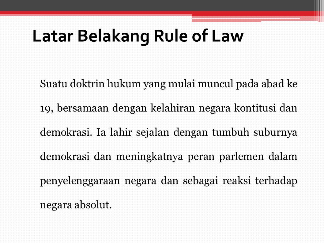 Konstitusi Dan Rule Of Law Ppt Download