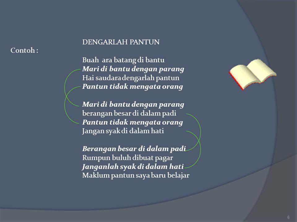 Contoh Pantun Kanak Kanak Muda Tua Di Susun Oleh Rita Widjajanti SPd NIP Ppt Download 1115
