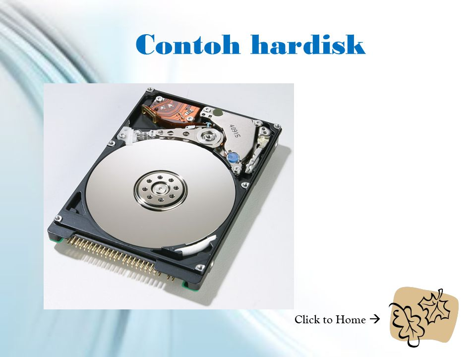 Contoh hardisk Click to Home 