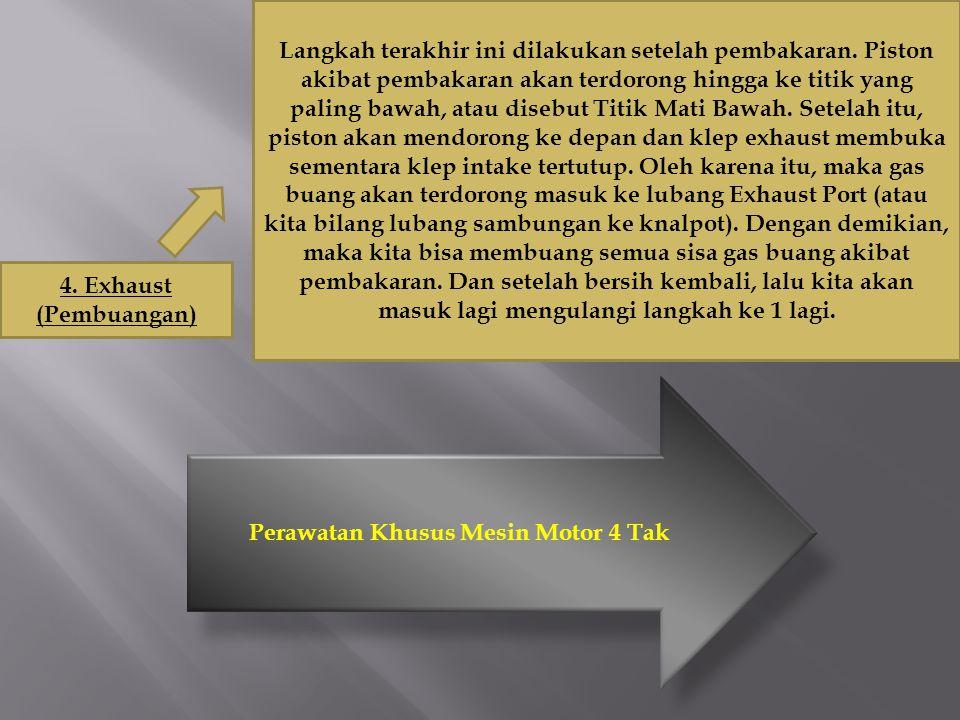Motor 4 Tak Cara Kerja Mesin 4 Tak Ppt Download