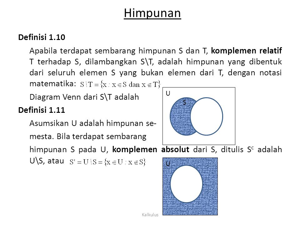 Logika matematika konsep dasar ppt download 9 himpunan ccuart Image collections