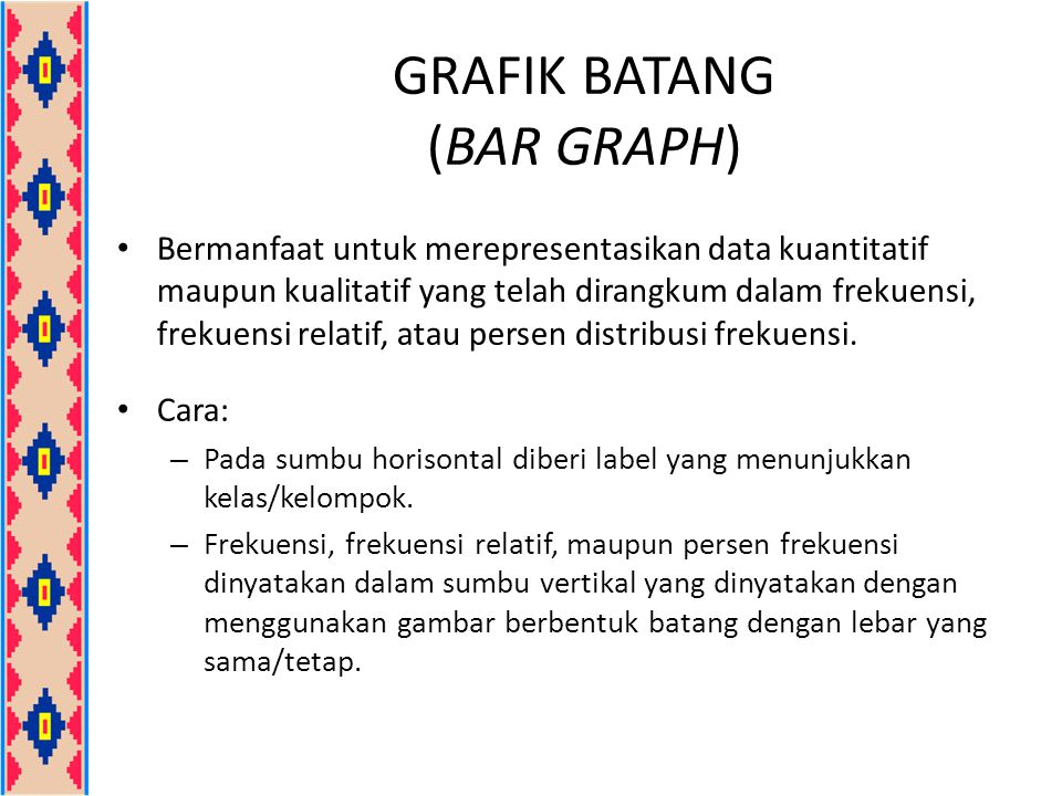GRAFIK BATANG (BAR GRAPH)