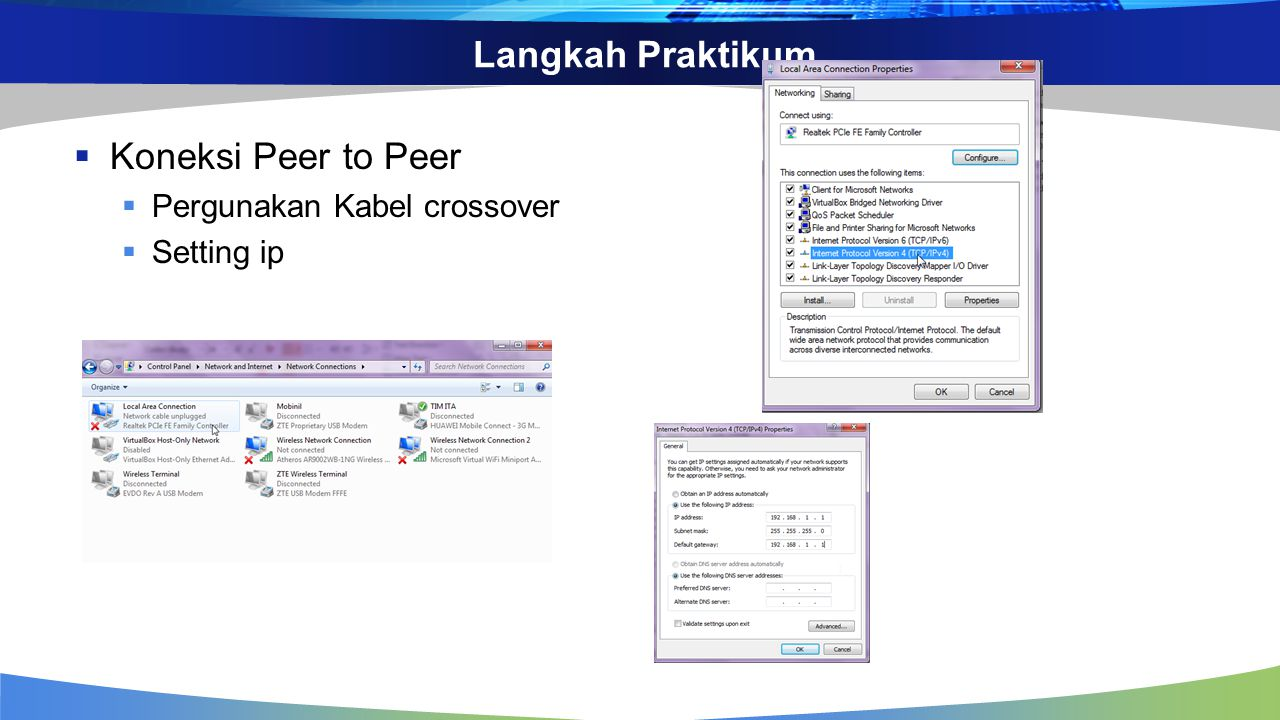 Koneksi Peer to Peer dan LAN - ppt download
