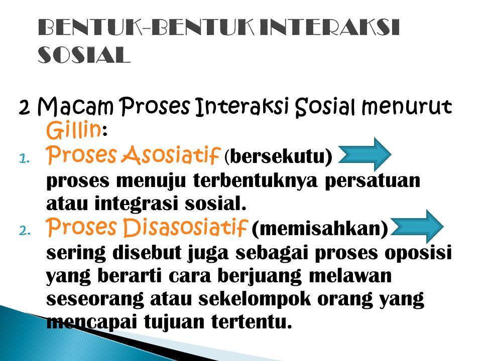Interaksi Sosial Pengertian Interaksi Sosial Ppt Download