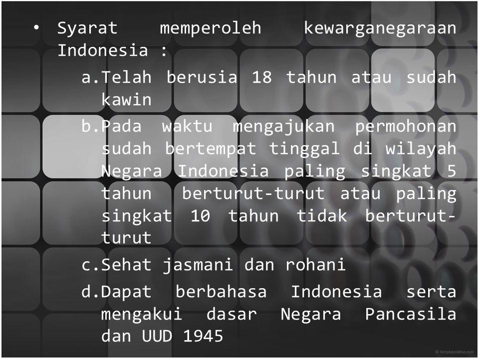 Hak Dan Kewajiban Warga Negara Ppt Download