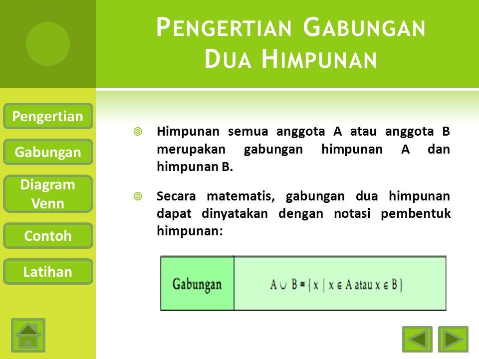 Gabungan dua himpunan anis waskito rini ppt download 3 pengertian gabungan dua himpunan ccuart Image collections