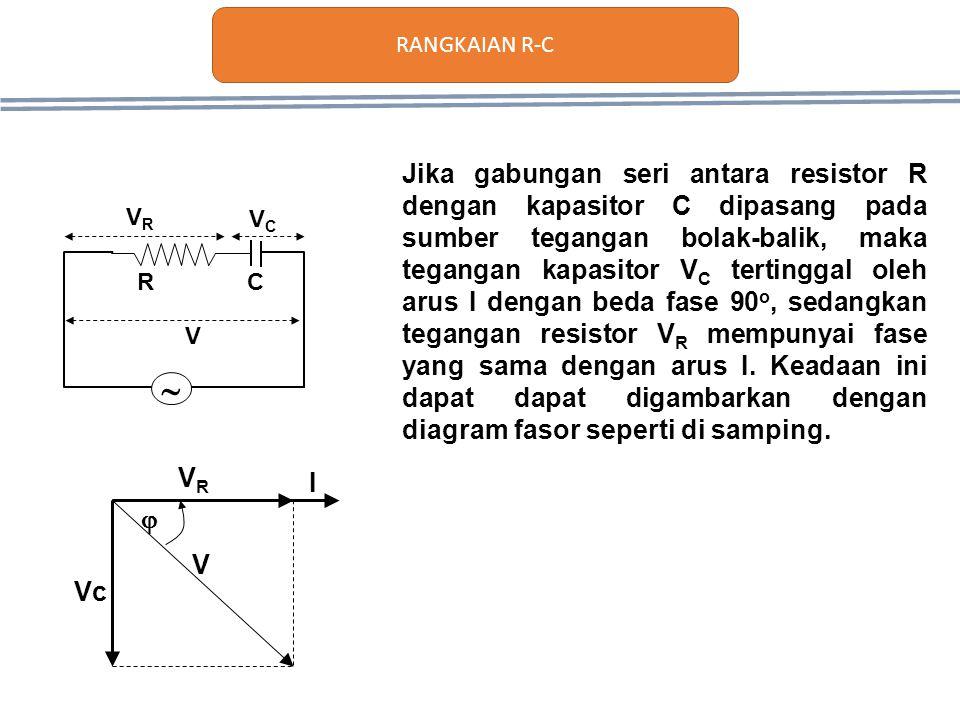 Rangkaian rl rc rlc impedansi dan resonansi ppt download 3 rangkaian r c jika gabungan seri ccuart Images