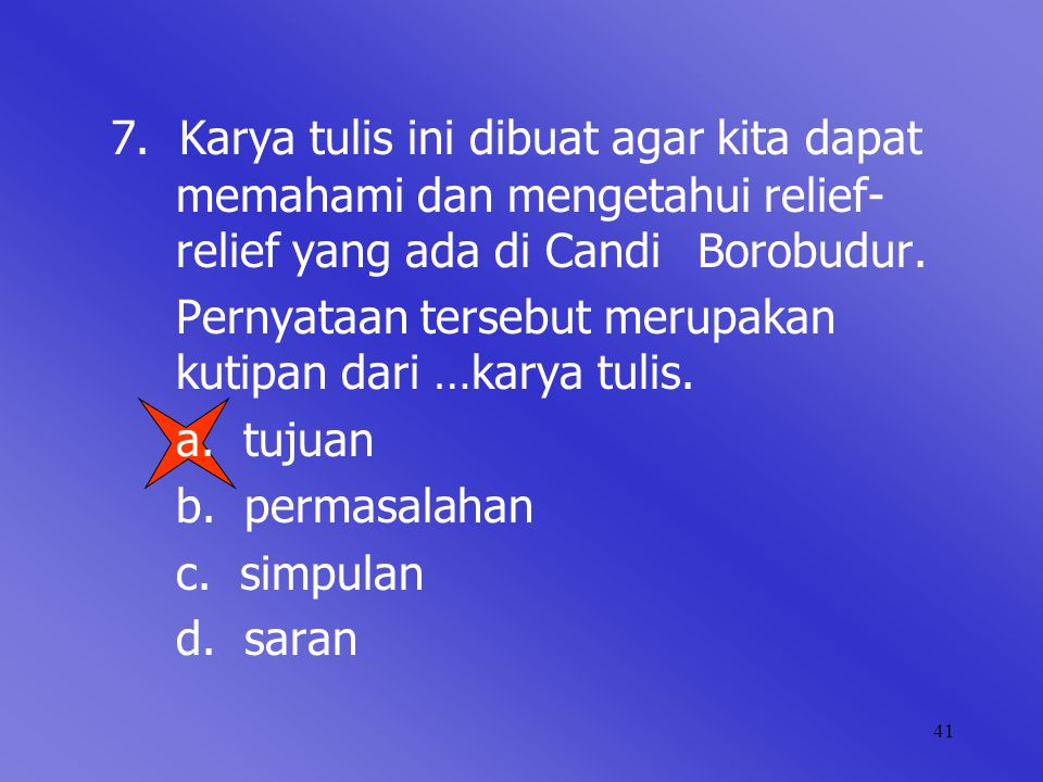 Menyusun Karya Tulis Makalah Ppt Download
