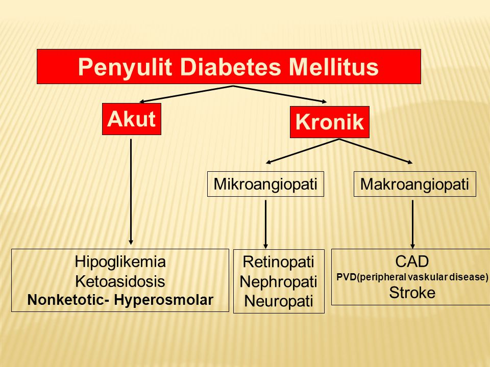 Penyulit Diabetes Mellitus
