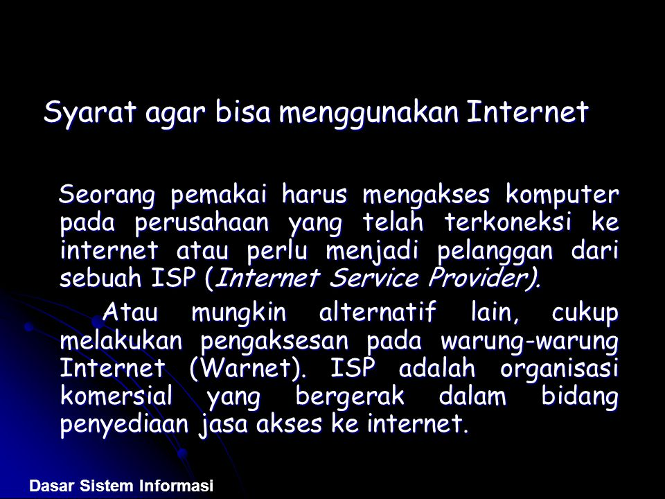 Internet Dan Aplikasi Web Ppt Download