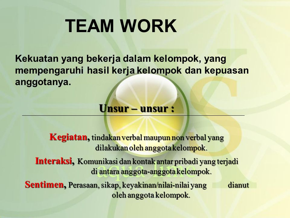 Kata Kata Semangat Untuk Teamwork Cikimm Com