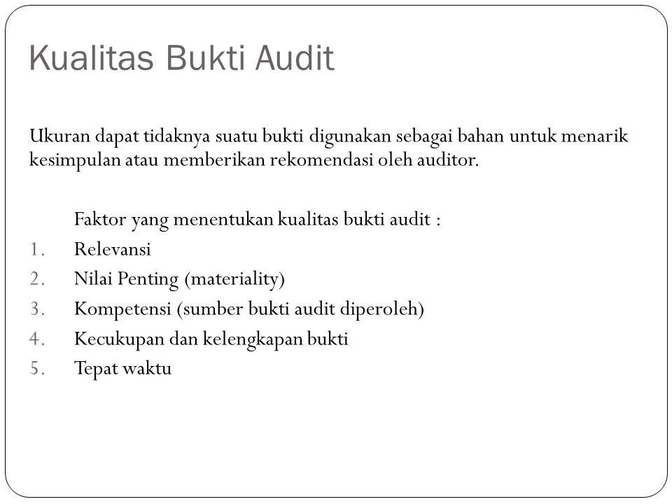 Pengumpulan Bukti Audit Dan Evaluasi Bukti Pemeriksaan Ppt Download