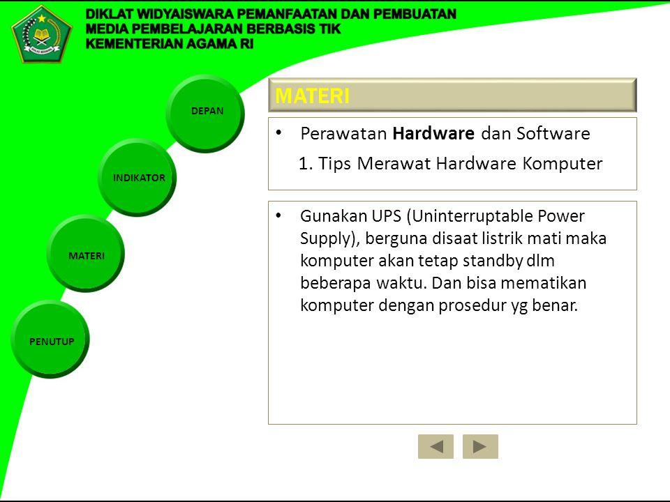 Pemeliharaan Hardware Dan Software Serta Instalasi Program Ppt Download