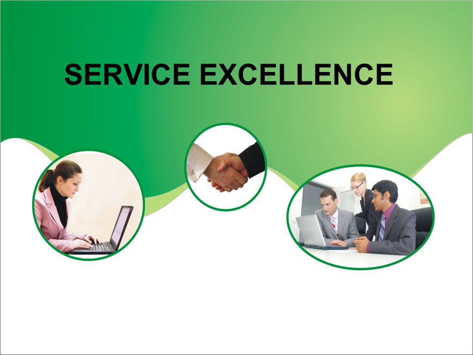 Service Excellence Ppt Download