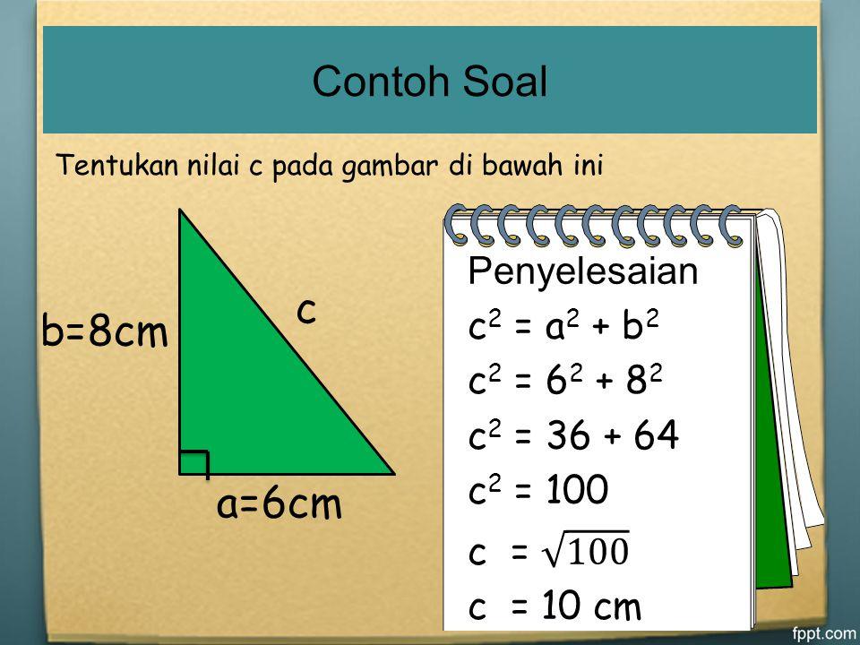 Contoh Soal Matematika Kelas 8 Teorema Pythagoras Dapatkan Contoh