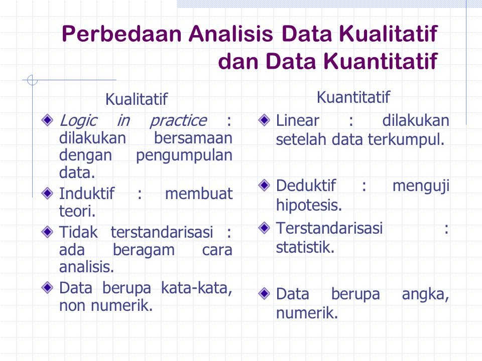 Contoh Skripsi Teknik Analisis Data Kuantitatif Kumpulan Berbagai Skripsi