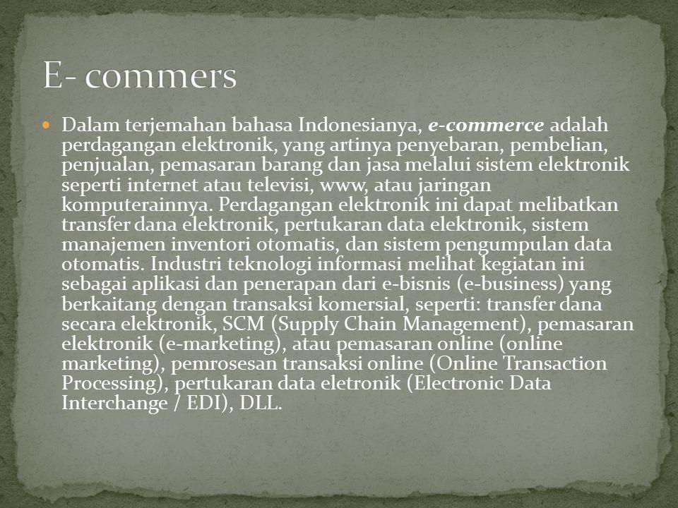 Tugas Makalah E Commerce Dan E Business Ppt Download