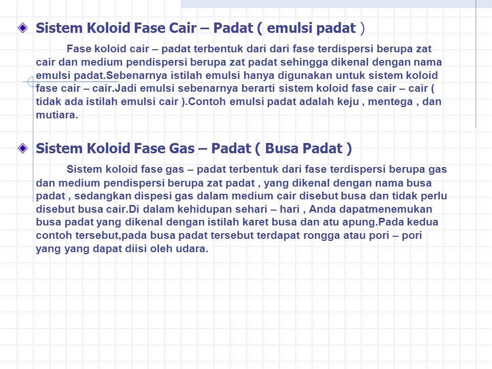 Sistem Koloid Ppt Download