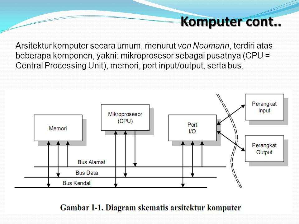 Mikroprosessor selamat belajar all is well sks 3 tiga ppt 9 komputer cont arsitektur komputer secara umum ccuart Image collections