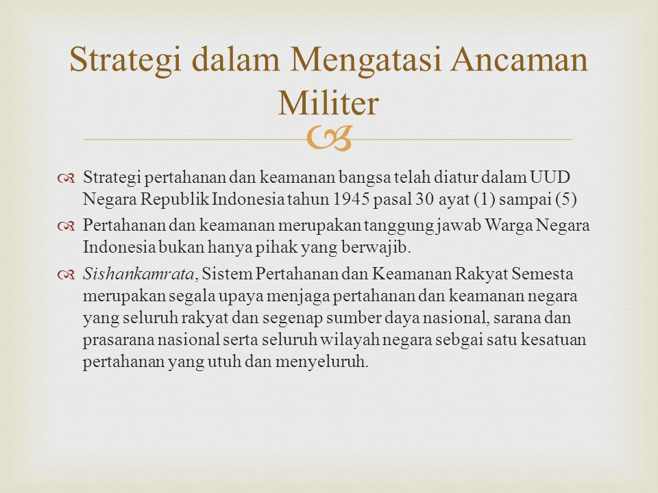 Menatap Tantangan Integrasi Nasional Ppt Download