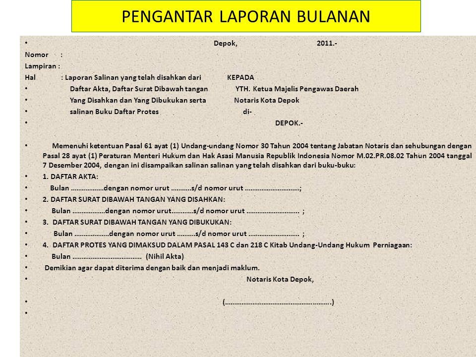 Peraturan Jabatan Notaris Ppt Download