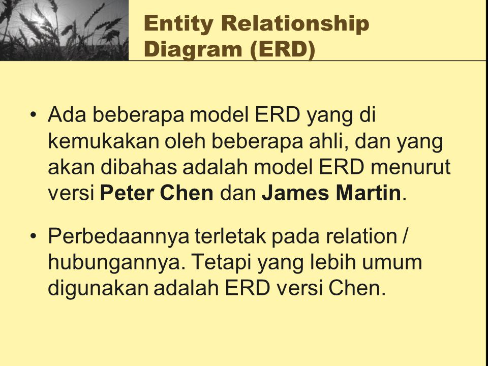 Entity relationship diagram erd ppt download entity relationship diagram erd ccuart Gallery
