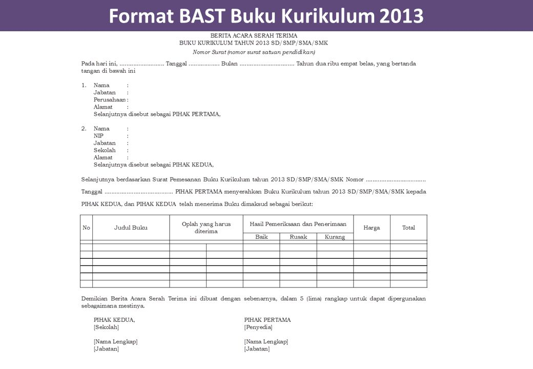 Kurikulum 2013 Pengadaan Buku Ppt Download